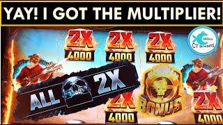 I KEEP WINNING! MAD MAX FURY ROAD Slot Machine BONUSES AND BIG WIN SESSION @ MOHEGAN SUN!