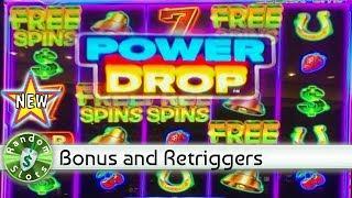 ️ New - Power Drop slot machine, bonus with retriggers
