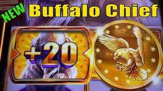 NEW BUFFALO !! BIG POTENTIAL !BUFFALO CHIEF Slot$150 Slot Free Play / $3.60 Bet栗スロ
