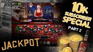 Hitting £29.000 Roulette Jackpot!   Roulette Casino Session