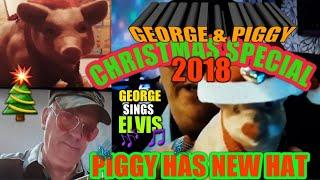 •Wow!•HAT•For Pig & Scratchcard George Sings• •ELVIS.•Special•(Likes•for more•night classics