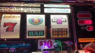 $100 Wild Rose High Limit Slot Play - 5 Times Pay $20/Spin