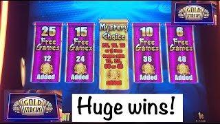 Awesome Max Bet mystery pick on Gold Stacks, Golden Prosperity Slot!