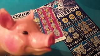 More...NEW Big DADDY'S...£2. Million Scratchcards..Money Multiplier. B-Lucky..10X.£20,000 Month.etc