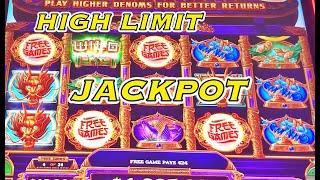 BIG JACKPOT HANDPAY!!! MIGHTY CASH DOUBLE UP SLOT.  RETRIGGERS!