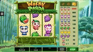 Wacky Panda Features & Game Play - by Microgaming
