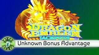 Dragon Emblem Jackpots slot machine bonus