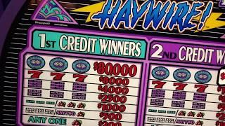 High Limit *$100 Haywire* *$25&$20 Double Diamond Deluxe*, Triple Double Diamond, Wild Cherry, Cigar
