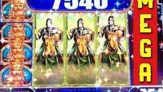 **SUPER BIG WIN** 14 GOLD BUFFALO REVEAL $1.20 BET - 3 LINE WILDS LOCKED in Black Knight BONUS