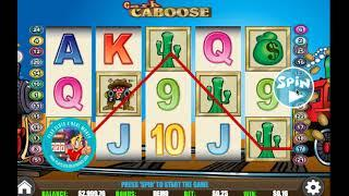 [CASH CABOOSE SLOTS GAMEPLAY]  'WGS (FORMERLY VEGAS TECHNOLOGY) GAMING'    PLAYSLOTS4REALMONEY