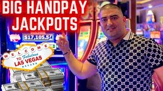 LIVE HUGE HANDPAY JACKPOTS ! Max Bet Live Stream From Las Vegas