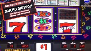 SUPER TIMES PAY—$100 BETS- FREE GAMES— JACKPOT — 3x 4x 5x— HIGH LIMIT