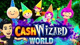 WE GOT THE NEW CASH WIZARD WORLD SLOT! EVERYBODY WINS!? Slot Machine Bonus (SG)