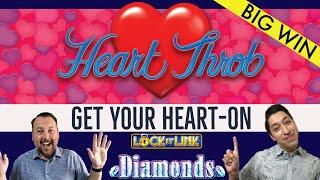 LIGHTNING LINK Heart Throb  100X OUR BET ON A SINGLE HEART!