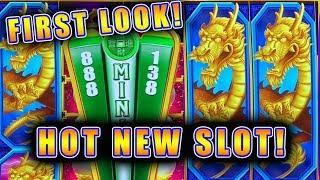 FIRST LOOK! NEW SLOT GAME!! • REEL RICHES DRAGON'S WEALTH • LIVE PLAY WITH ALL BONUS FEATURES