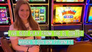 Live Slots Play in DTLV!! March 10 2019