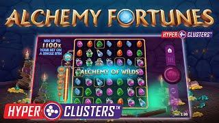 ALCHEMY FORTUNES HYPERCLUSTERS (ALL41 STUDIOS) MEGA WIN