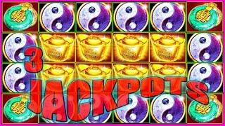 3 JACKPOT HANDPAYS  $4500 IN BETTING UpTo $30 BETS, RED FORTUNE HIGH LIMIT SLOTS
