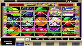 Free Wheel of Wealth Special Edition slot machine by Microgaming gameplay • SlotsUp
