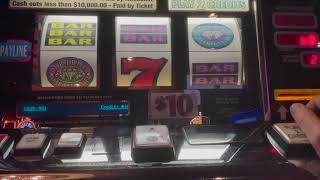 Double Top Dollar $30 & $125/Spin - Triple Double Diamond - Old School High Limit Slot Play