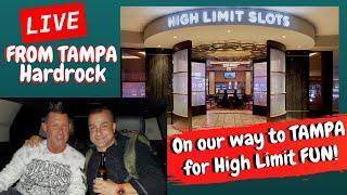 LIVE! High Limit Slot Play at Hard Rock Tampa