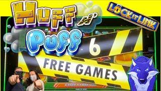 HUFF N PUFF BONUSES! Up to $25/ spin! The HIGHS and LOWS of Huff N Puff