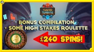 Bonus Compilation with 7 BONUSES & Some BIG BET Roulette!