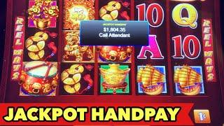 JACKPOT HANDPAYDANCING DRUM EPIC LAST GAME HIT | FU DAO LE | TREE OF WEALTH Slot Bonus Games