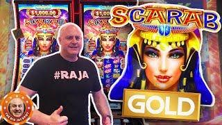•PREMIERE SLOT! •$1,000 on Scarab Gold •