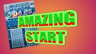 AMAZING ...SCRATCHCARDS...GAME.....VIEWERS ARE ADDING MORE ..AND MORE CARDS TO THE BIG PRIZE DRAW