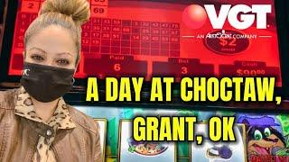 VGT SUNDAY FUN'DAY, COME WATCH MY SMALL JOURNEY FOR A DAY @ CHOCTAW CASINO IN GRANT, OKLAHOMA