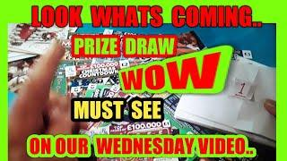 WOW!.MORE & LOOK MORE PRIZES ..TO ENTER SEE WEDNESDAY  LIVE GAME..MONPOLOPY £2M..NEW JUNGLE JACK POT