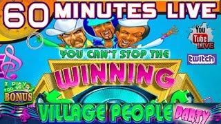60 MINUTES LIVE  VILLAGE PEOPLE PARTY  THE SLOT MUSEUM
