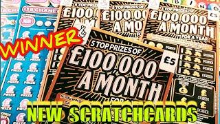 "NEW""£100,000 MONTH SCRATCHCARDS...50X CASH..REDHOT BINGO"