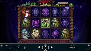 Creepy Carnival slot from Nolimit City - Gameplay