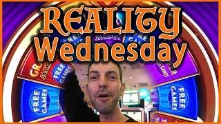 Reality Wednesdays with a BANG!  LIVE PLAY  at San Manuel Slot Machines w Brian Christopher