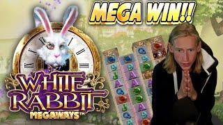 MEGA WIN!!!! WHITE RABBIT MEGAWAYS BIG WIN - Casino Slot from Casinodaddy LIVE STREAM