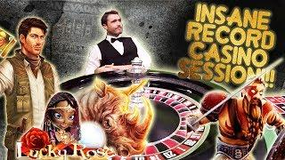 Record Session or Record Rip? (Warning Degen at Work)  High Stakes Gambling