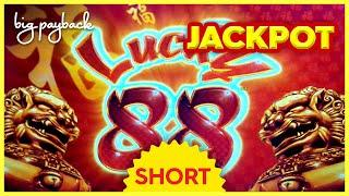 UNIQUE JACKPOT ON YOUTUBE! Lucky 88 Slot - AND THEN IT HAPPENED! #Shorts