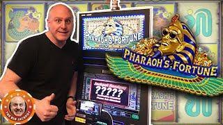 •AWESOME JACKPOT! •Raja DRAINS Pharaoh's Fortune! •| The Big Jackpot