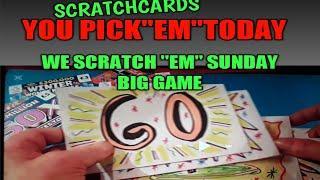 """£200 WORTH SCRATCHCARDS..U""""PICK """"EM""""..WE SCRATCH""""EM""""SUNDAY"""