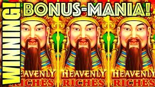 BONUS-MANIA! COME ON INGOTS! HEAVENLY RICHES Slot Machine (SG BALLY)