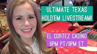 Ultimate Texas Hold'em Livestream!! $1000 Buy-in!! Nov 14 2019