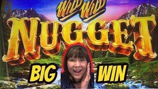 I FOUND GOLD! BIG WIN BONUS-WILD WILD NUGGET