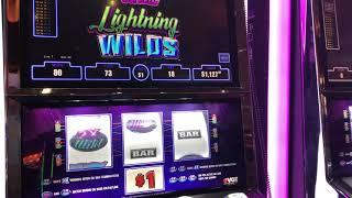 """""""Polar High Roller Lighting Wilds""""  VGT Slots  Red Win Spins  Choctaw Casino, Durant, OK"""