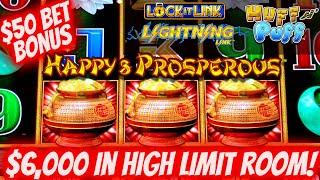 Let's Gamble $6,000 On High Limit Slot Machines & Chase That  BIG JACKPOT | SE-10 | EP-3