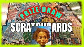 THE  PRIZE DRAW....SCRATCHCARDS..--2...GAME..... with ALBERT