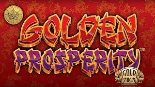 5c Gold Stacks Golden Prosperity - live play w/ multiple bonuses - Slot Machine Bonus