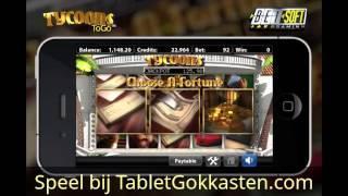 Tycoons gokkast - Online gokkasten spelen op Tablet