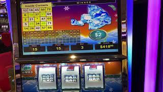 VGT POLAR HIGH ROLLER SLOT LIVE PLAY WITH RED SCREEN SPINS AT RIVER SPIRIT CASINO TULSA OK !!!!